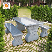 Garden Natural Outdoor Stone Tables And Benches for house MBO-22