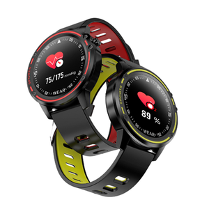 L8 Heart Rate Monitor IP68 Waterproof smart watch L8 smartwatch blood pressure for Android IOS smartphone