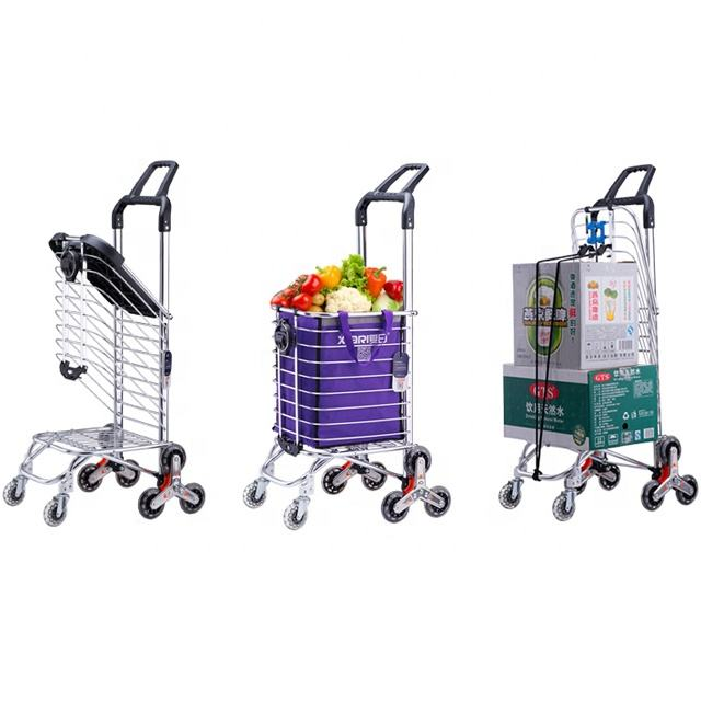 Cheapest good quality stair climber shopping trolley