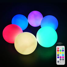 Multi Colors Changing Hang Indoor Outdoor Luces Para Fiestas Led Ball Light Decoration for Festival