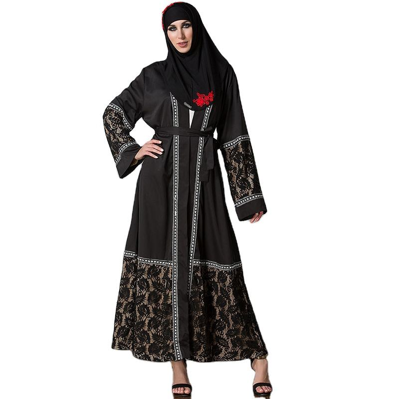 #PE1525 Woman Abaya Black Islamic Clothing Muslim Islamic Clothing Abaya Women Muslim Dresses Islamic