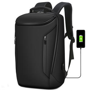 Waterproof men travel usb computer laptop bag backpack
