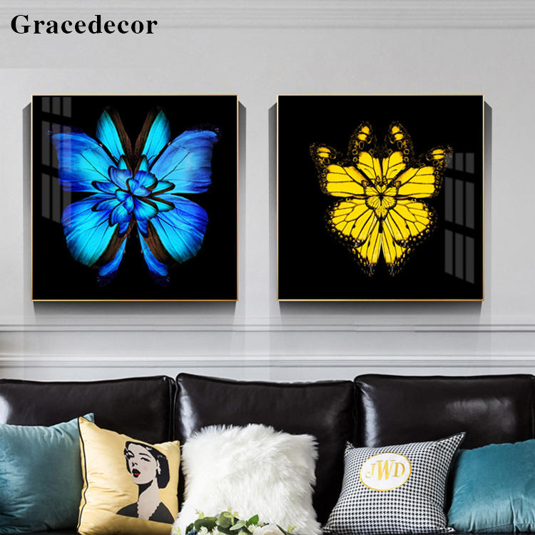 Butterfly Wall Art Butterfly Pictures For Glass Resin Painting