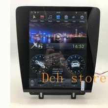 12.1 inch android 9.0 car dvd player gps navigation for Mustang 2010-2014 tesla screen stereo  RADIO MULTIMEDIA PX6 CARPLAY HDMI