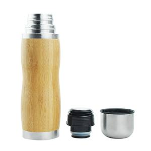 2020 New Style Vacuum Flasks Thermoses With Bullet Manufacturer Custom Stainless Steel Bamboo Insulated Thermos Bottle.