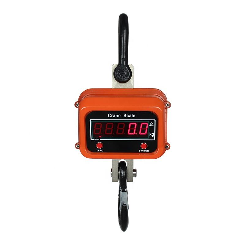 OCS Remote Control Digital 10 ton Hanging Crane Weighing Scale LED Display Weighing Electronic Crane Scales