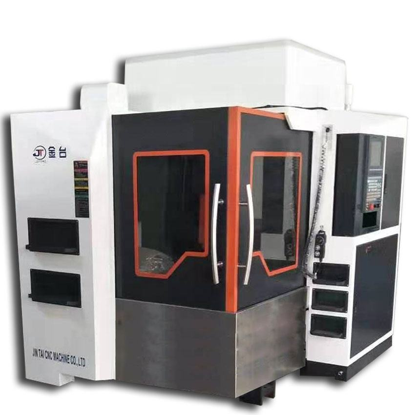 high accuracy CNC vertical carving machining center and milling metal machine tool