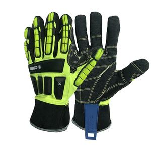 CUSTOM tpr protection impact resistant mechanical motorcycle work gloves