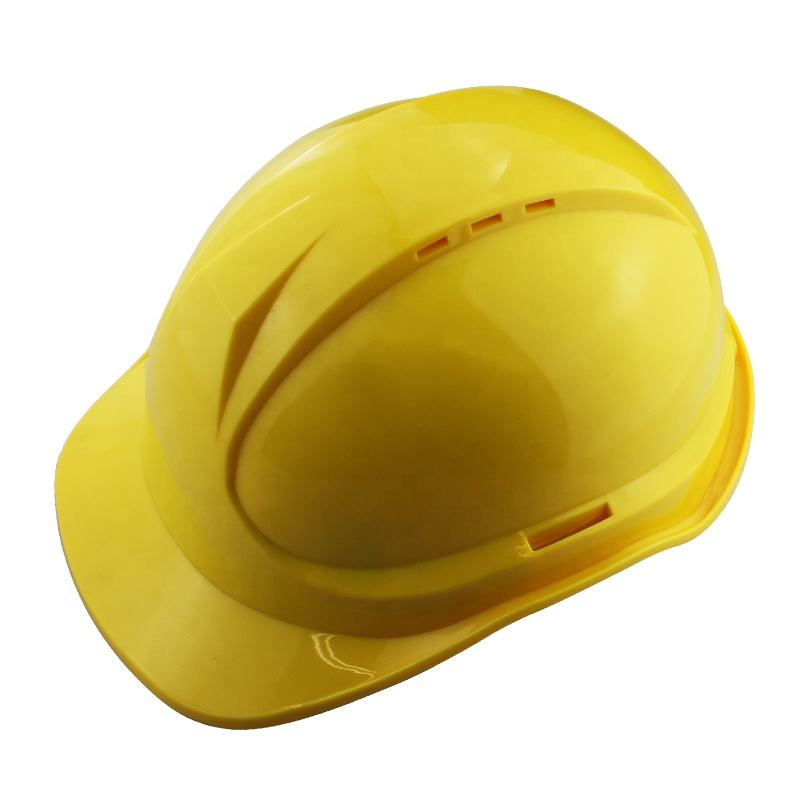 High Quality Plastic All color Safety Helmet with Chin Strap