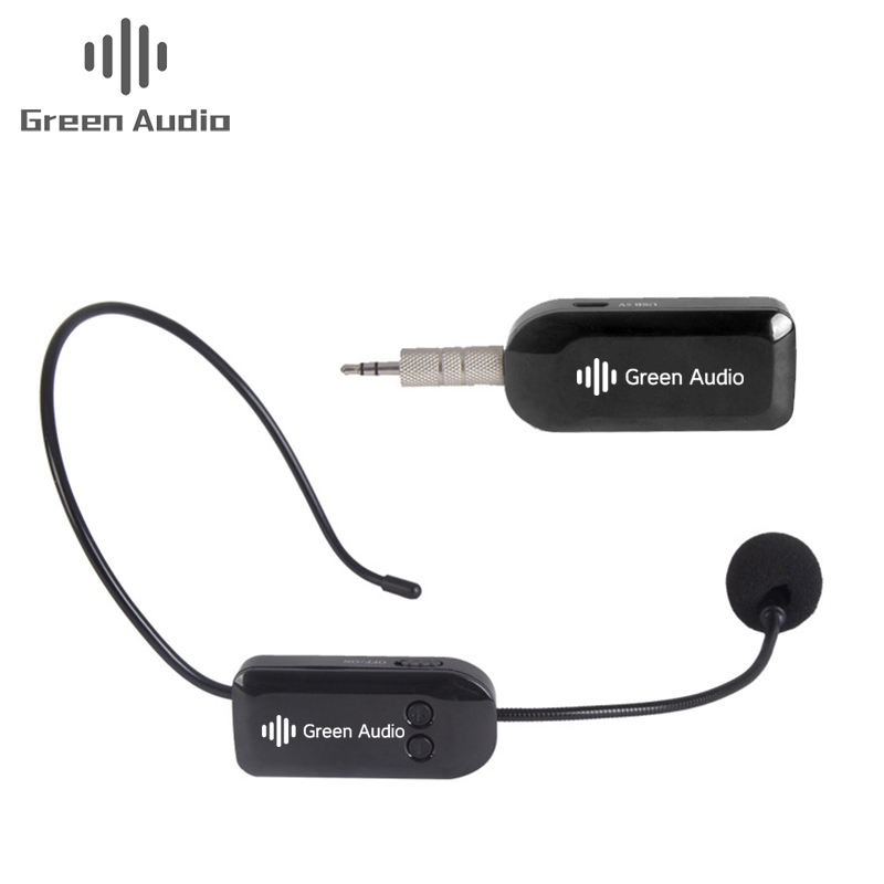 GAW-720 Headset Condenser Microphone Wireless Mini Professional Microphone 2 in 1 Headset