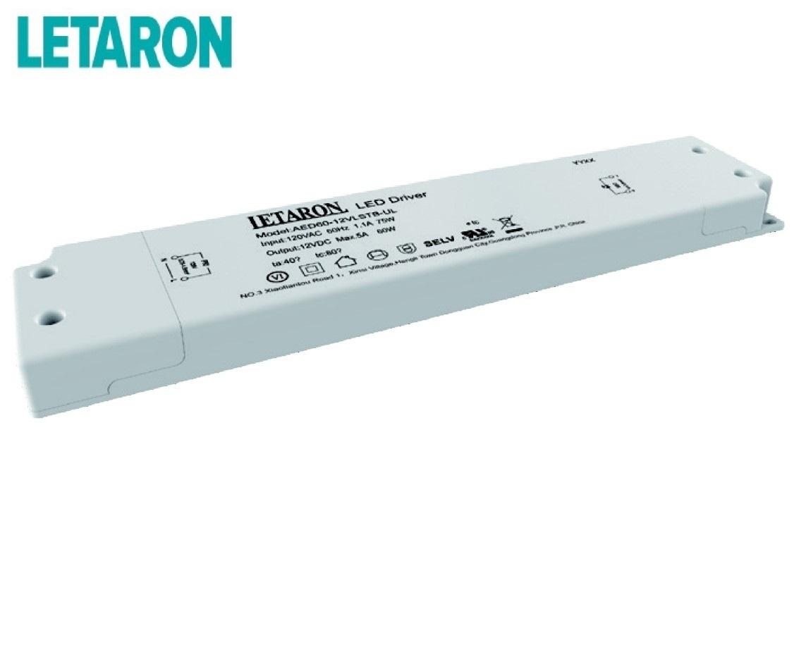 Letaron LED Driver Constant Voltage Dali Dimmable , LED Switching Power Supply