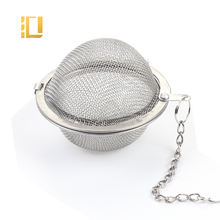 Food Grade Ball Shape Tea Accessories  Stainless Steel Tea Infuser