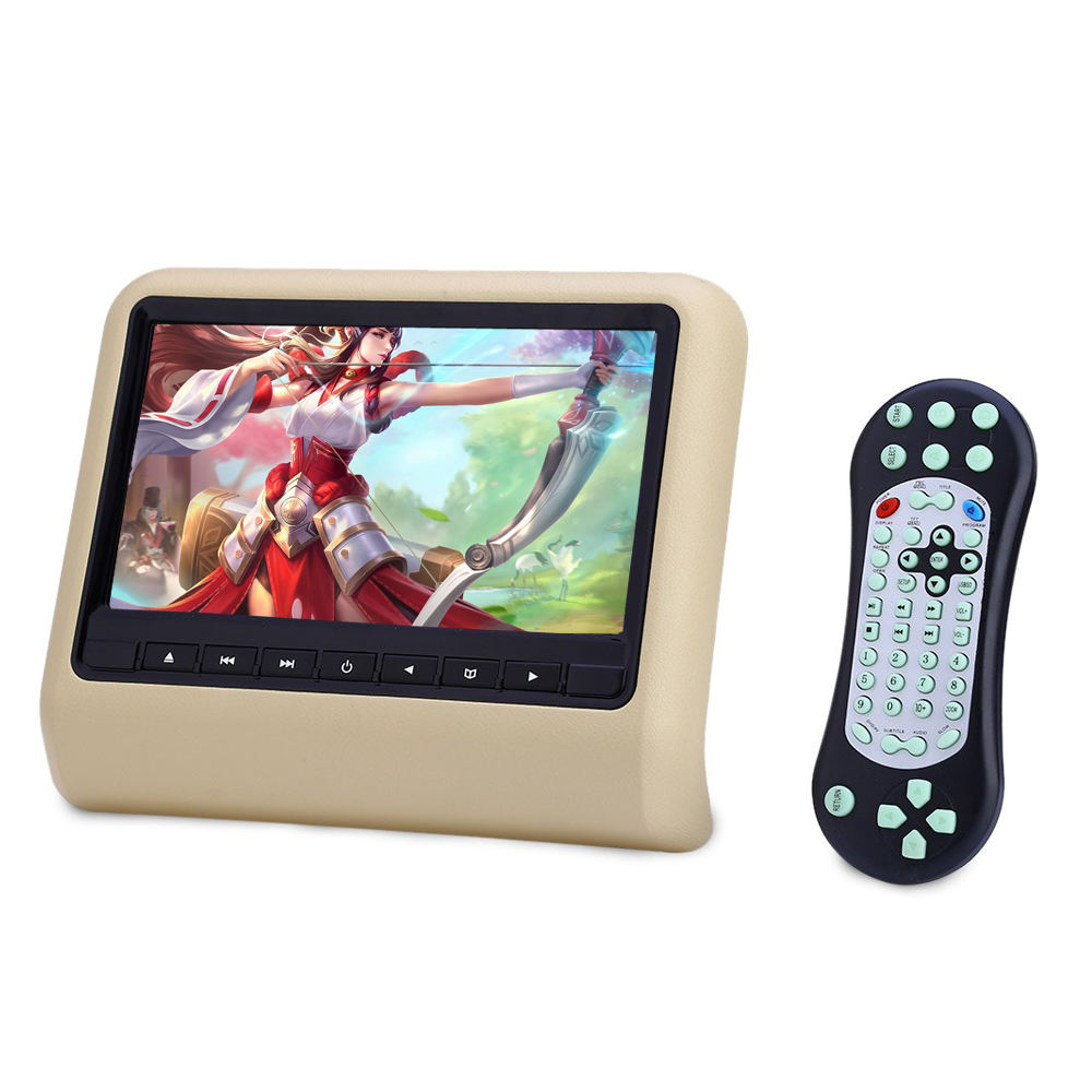 9Inch Digital Screen Headrest Seat Back Monitor With USB MP5 SD