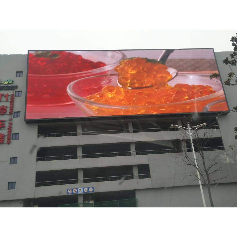 10mm giant Smd IP68 Aluminium Module Outdoor Led Screen P10