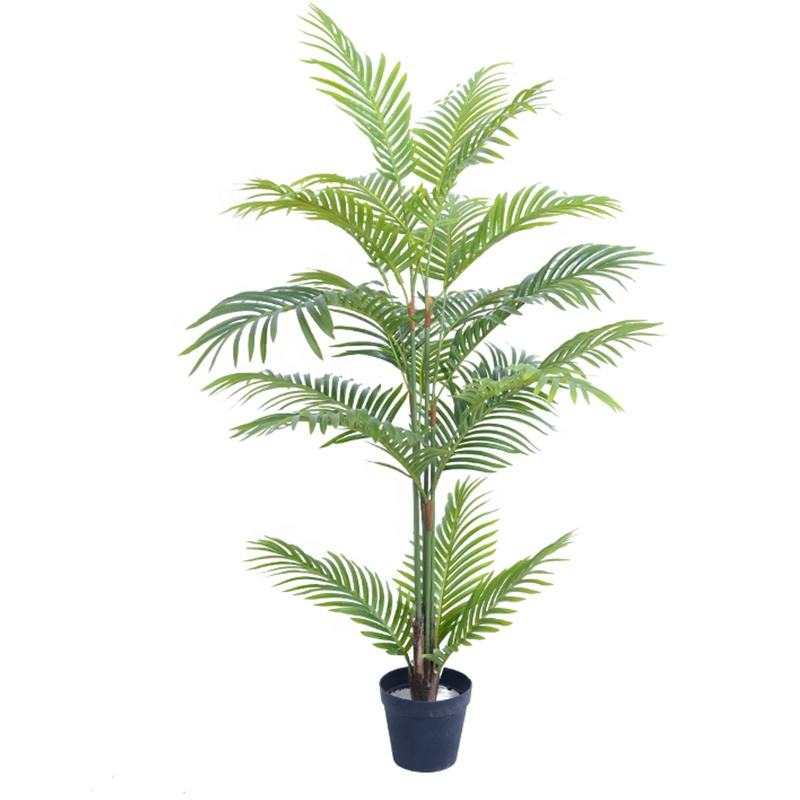 4ft Artificial Areca Palm Tree in Pots for Home Decor Indoor plants Artificial Tree palm