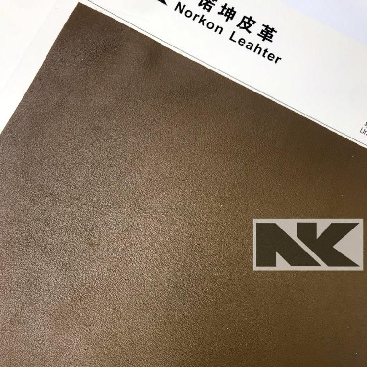 V182 Matte skin feel nappa PVC artificial leather for bags and shoes