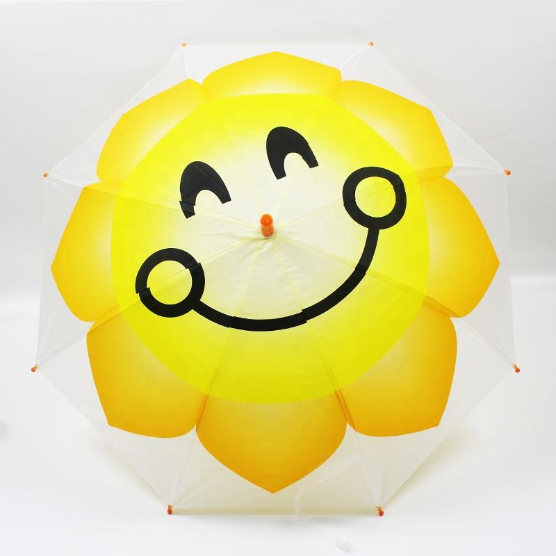 Manufacturer Direct Cute Cartoon Happy Baby Kid Child Umbrella