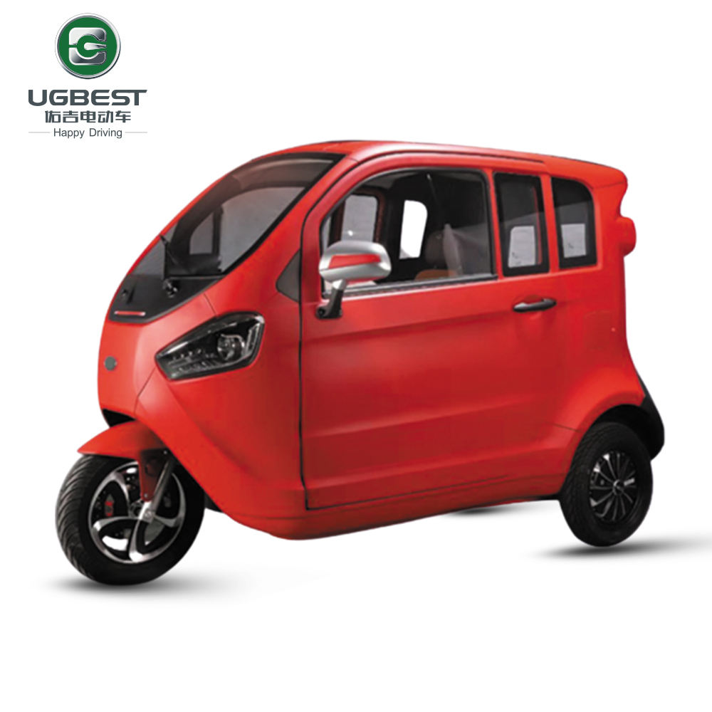 Eu two seater electric micro mini city car with aircondition