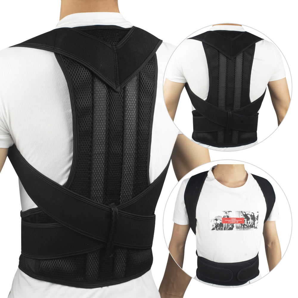 Wholesale Cheap Magnetic Posture Corrector Correction Shoulder Back Support Belt for back pain