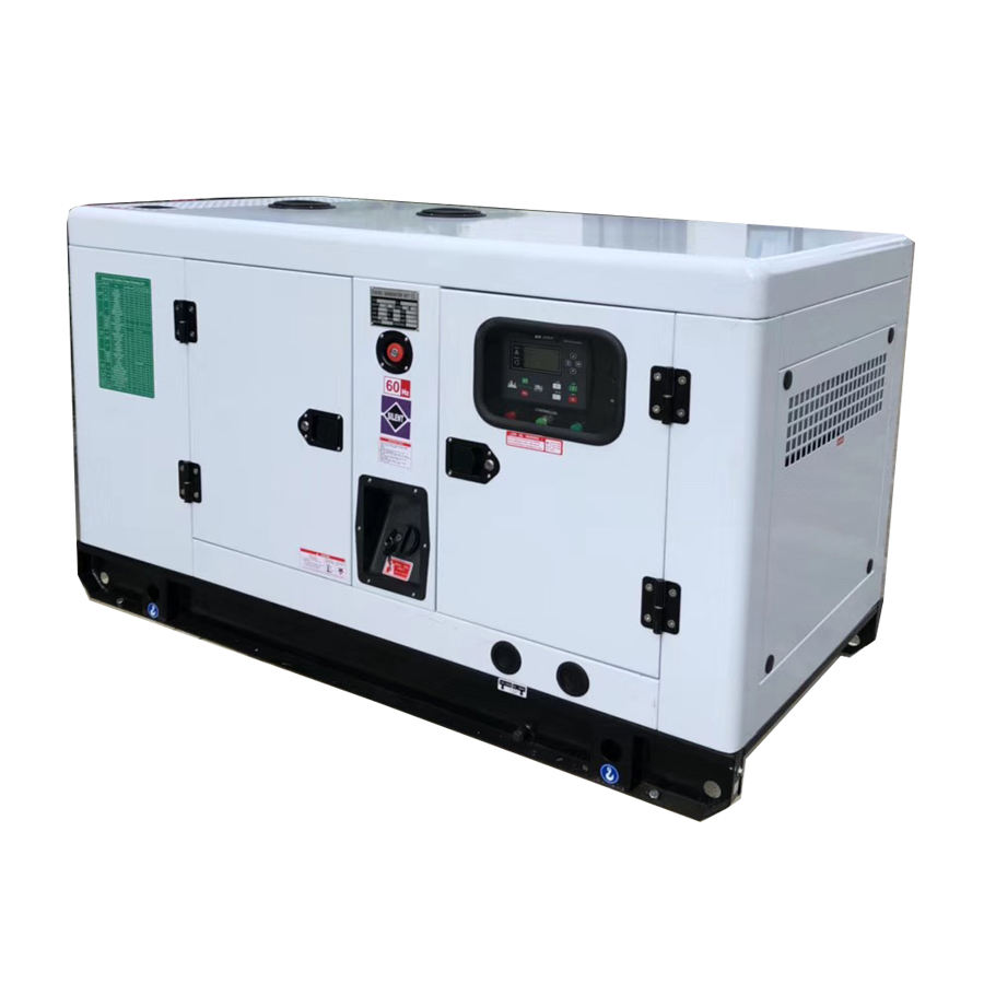 High quality 25kva diesel engine super silent generator set price for sale