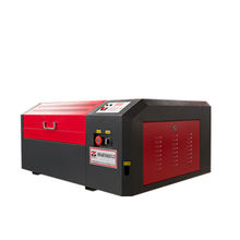 Factory small desktop mini laser cutting machine price 4040 40W 60W for acrylic leather wood glass crystal