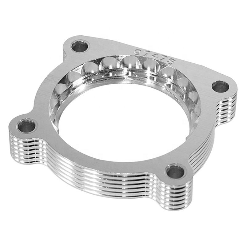OEM CNC machined aluminum 50mm/100mm/200mm throttle body spacer