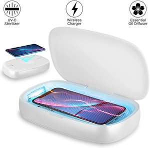 High Transparency durable uv phone sanitizer sterilizer box