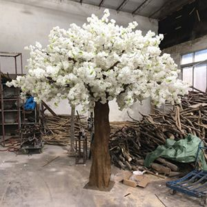 Outdoor indoor customized high Artificial cherry blossom tree wedding decoration trees