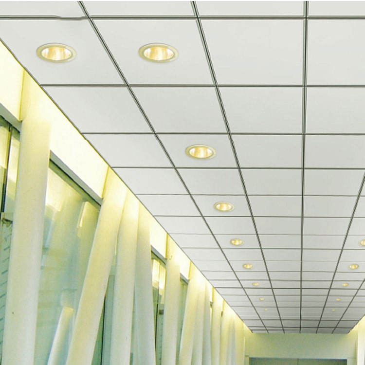Aluminum ceiling tiles 600x1200 roof building material interior decoration materials