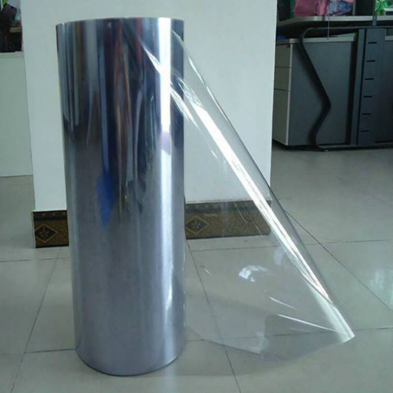 NG-PVC roll sheet plastic furniture decorative rigid transparent super clear protection printed wrapping flexible pvc film