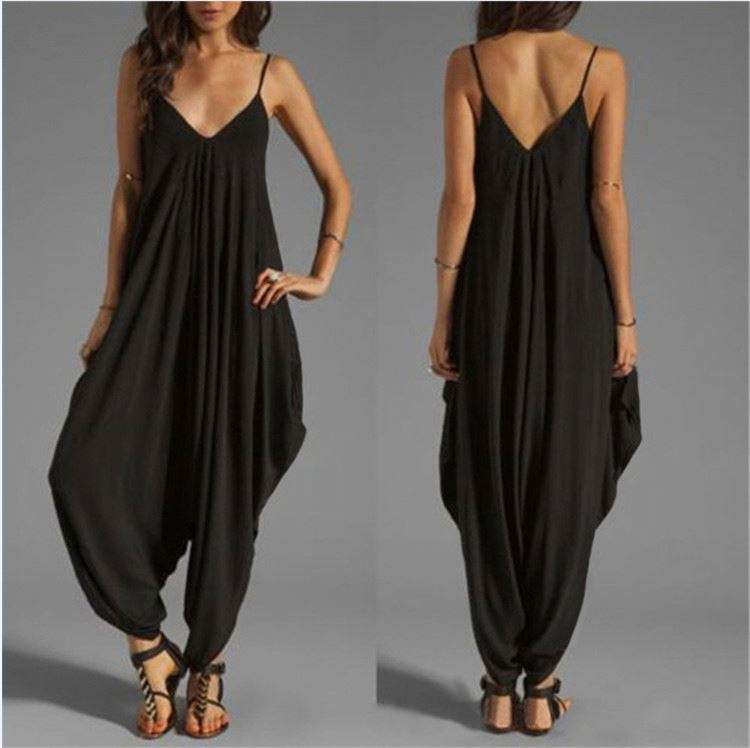 New Fashionable Women's Collection Rayon plan dye v- neck sleeve less long dress