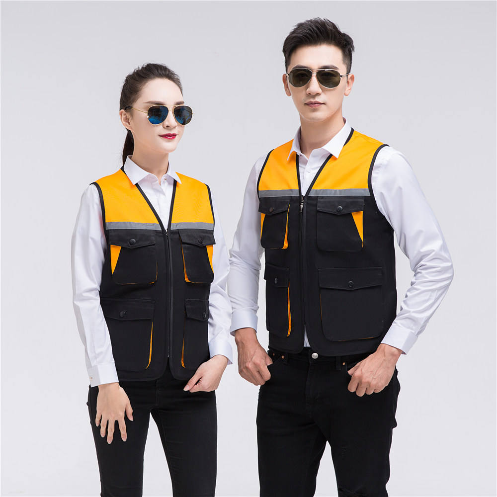 New brand 2021 reflective safety vest reflective jackets vest reflective cycling vest