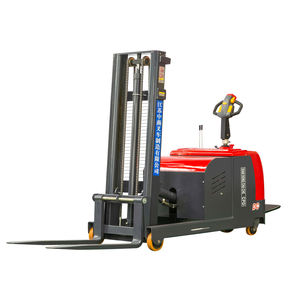 high quality 1ton 2 ton Stand type Counterbalance Electric Forklift used factory direct sale