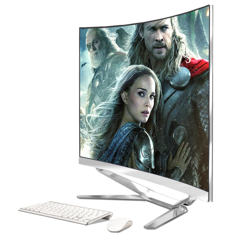 "Wholesale 27 inch aio barebone core i7 all in one pc all in one curved led 27 "" computer for gaming"