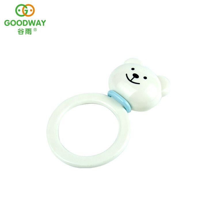 hearing ability development plastic musical activity rings baby hand baby wrist rattle