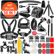 Best Amazon Selling 50 IN 1 Gopros Accessories Kit Photographic Equipment Set Support Go pro Hero 8 7 6 5 4 3