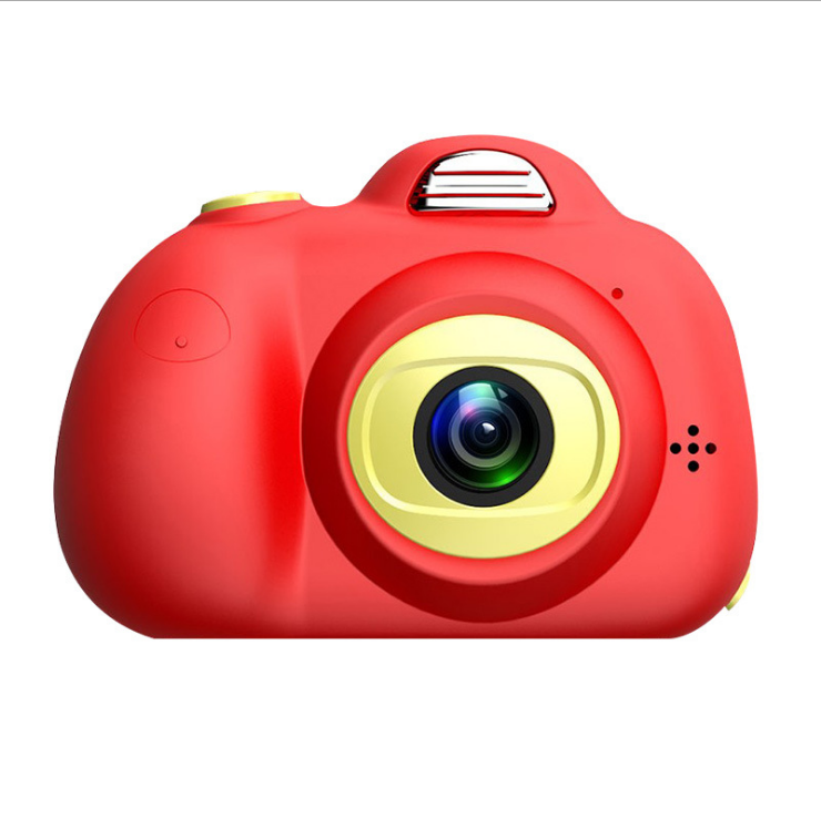 Factory Hot Sales Shockproof Face Recognition Auto Focus Cartoon Kids Camera
