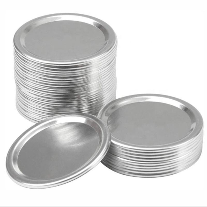 Amazon Popular Ball Wide Mouth Canning Mason Jar Tinplate Flat Lids with magnetic