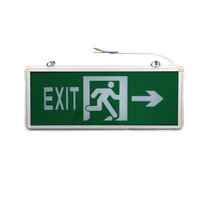 Factory price CE SAA approved 3w emergency led sign
