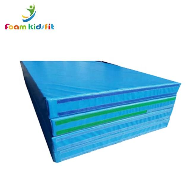 Wholesale waterproof gymnastic folding crash landing bouldering mat