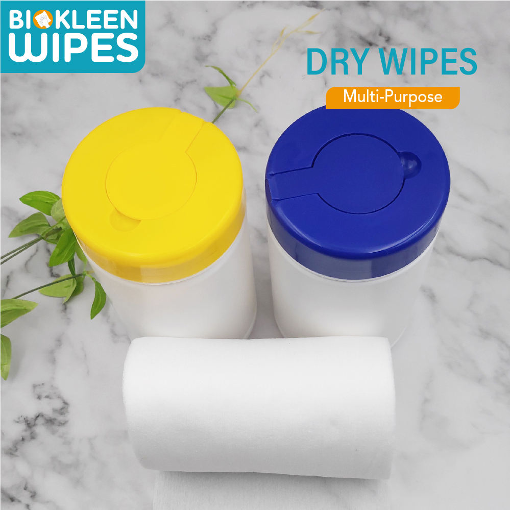 Biokleen Empty PP Material Wet Wipes Canister Tube