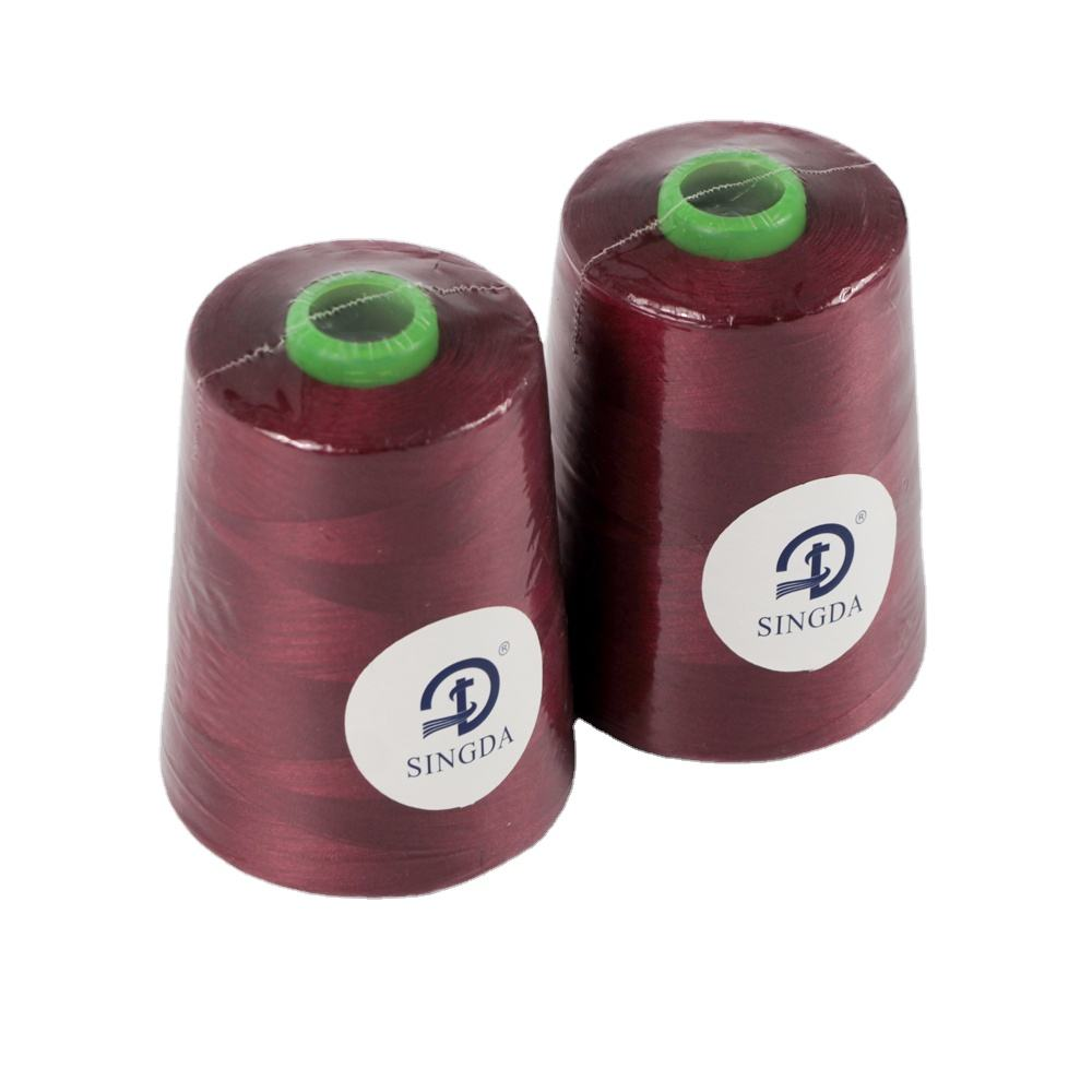 100% Spun 40/2 Polyester Sewing Thread 5000 Yard