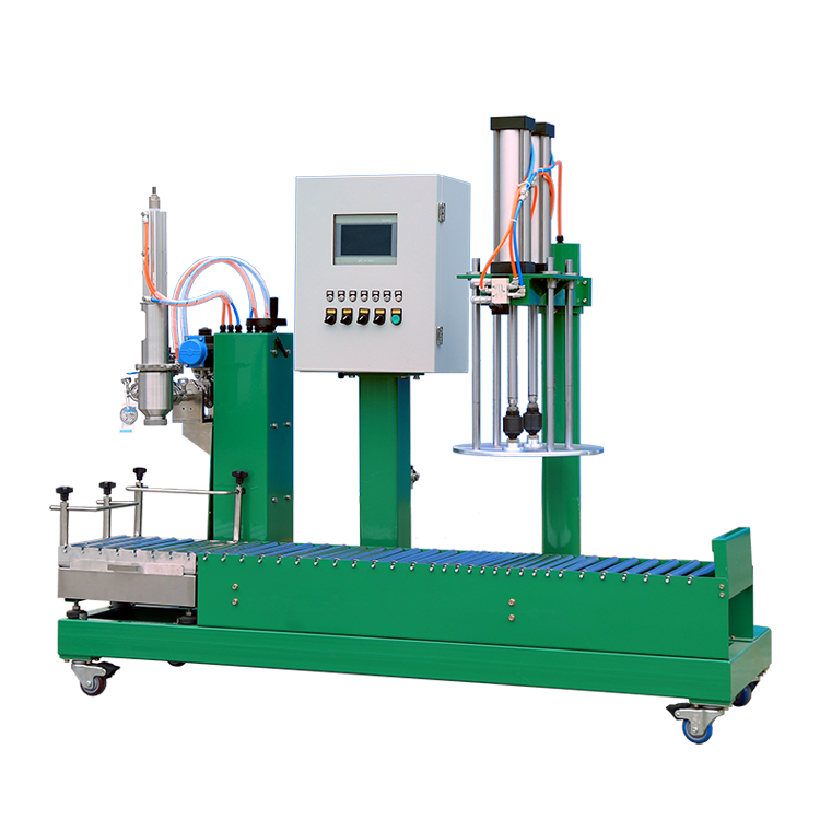 Carbon Steel Semi Auto Liquid Filling Machine Liquid Semi Automatic