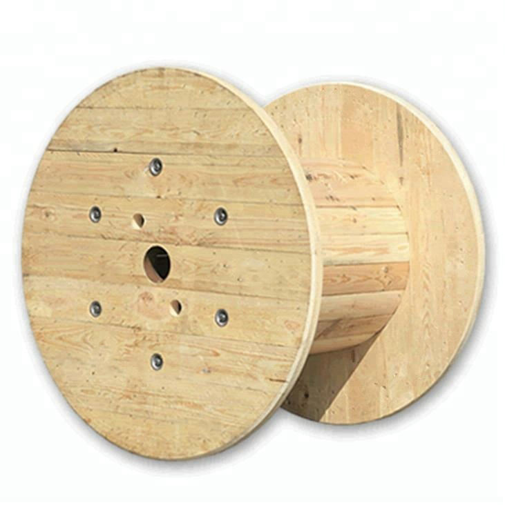 steel cable electrical large wooden cable spools for sale