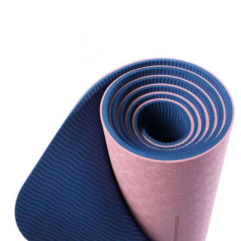 Wholesale Build Fitness Custom Label TPE Yoga Mat