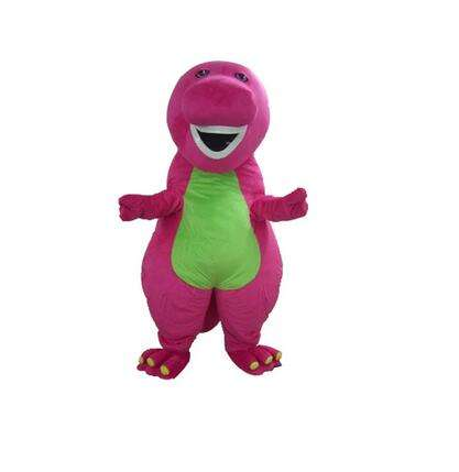 New landing Comedy film character purple barney wearing inflatable lyjenny mascot costume mascot costume for mall