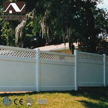 house PVC fencing garden decoration balcony fence decorative panel