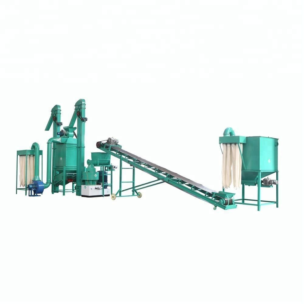 New Design new energy 200-500kg/h small wood pellets production line for biofuel