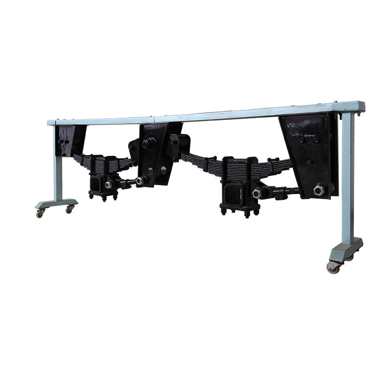 Zware Vrachtwagen 2 As Duitse Type Semi Trailer Arm Suspension