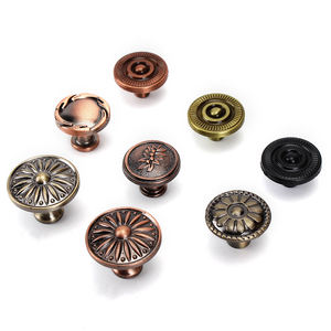 BestryGlobal Wholesale Aluminium Alloy Antique Copper Kitchen Cabinet Pull Handle And Knobs